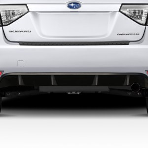 2008-2010 Subaru Impreza WRX HB Duraflex Backstop Rear Diffuser - 1 Piece