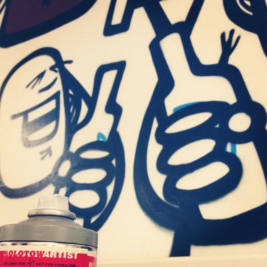 Spray'n'Drink: Während der Arbeit das Vergnügen