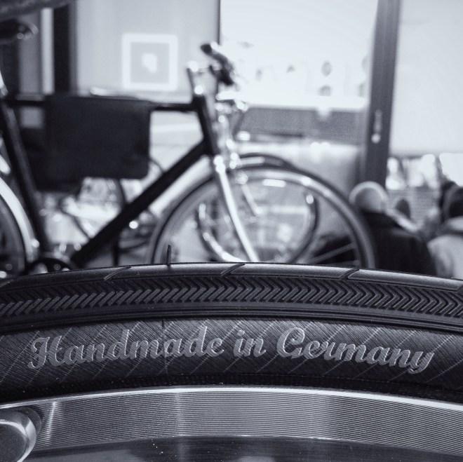 Symbolisch für die Berliner Fahrradschau: Vieles hier entspringt kreativen und fahrradverrückten deutschen Köpfen