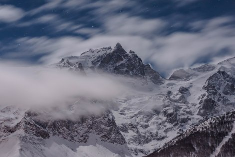 Wild: Massive Berge bieten den Rahmen für die Freeride-Legende La Grave (Foto: John Morgan Galeyn)