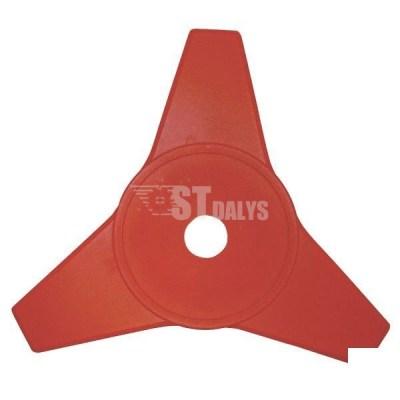 Krūmų peilis 3 peilių-250-25.4mm PVC