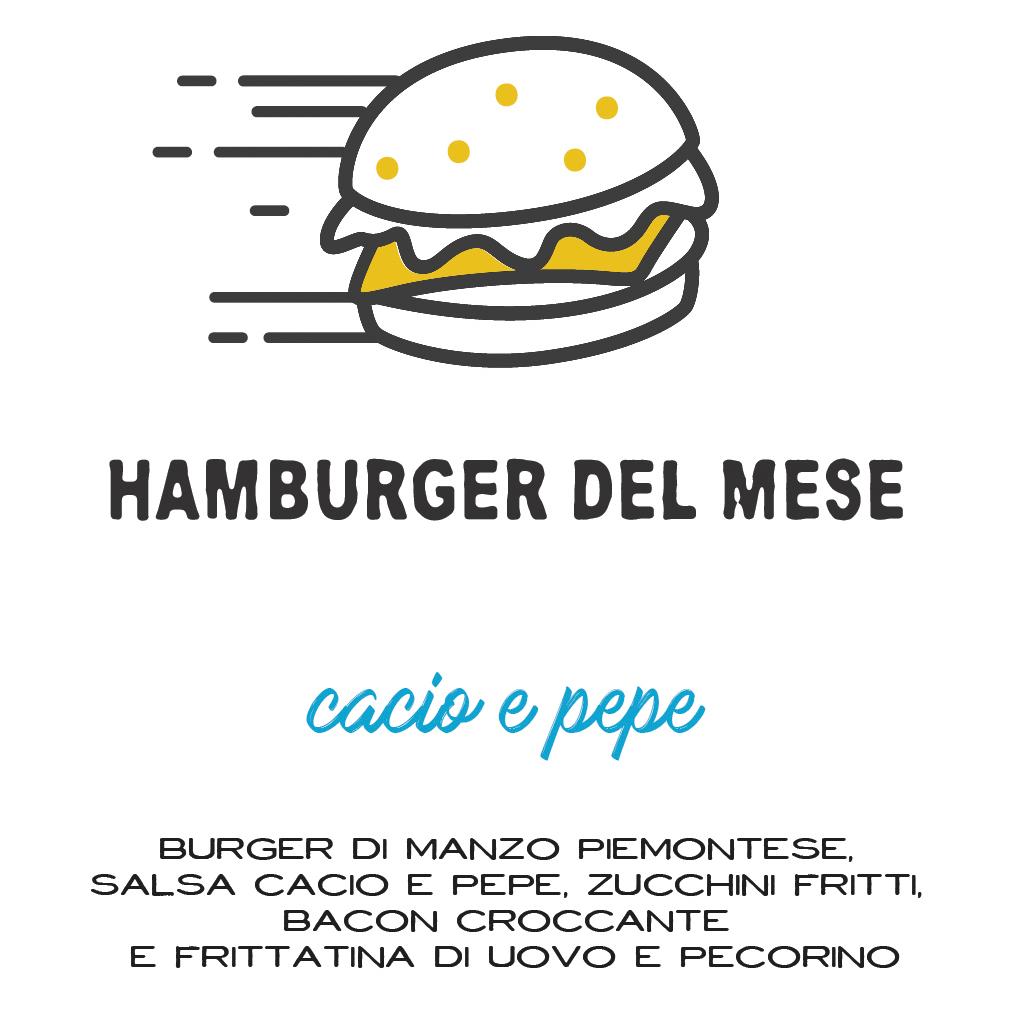 burger del mese di maggio birreria st George