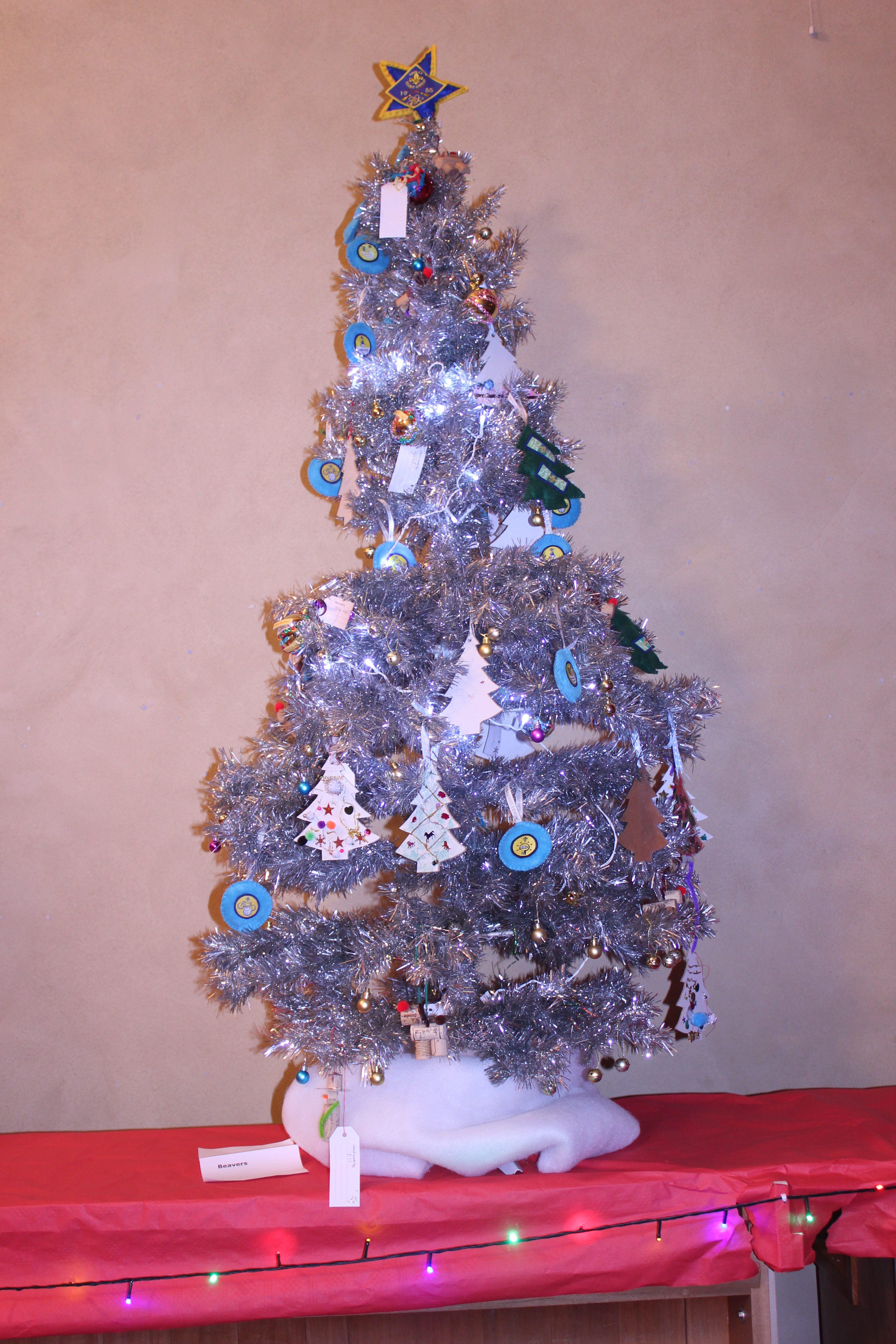 Tadley Beaver Scouts tree