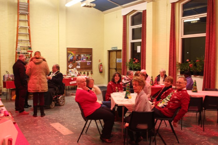 Refreshments in the church hall