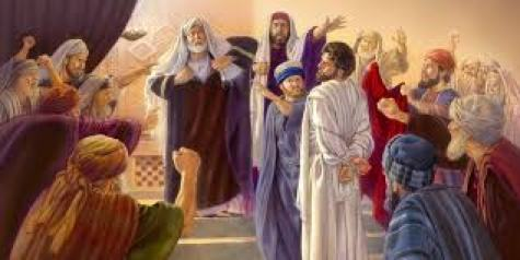 Jesus' Trial Before the Sanhedrin (Matthew 26) | Life of Jesus