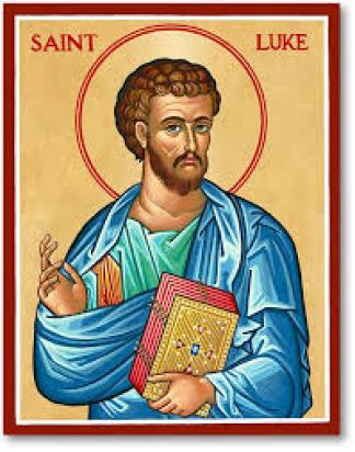St Luke Icon | Luke the evangelist, Saint luke, Gospel of luke