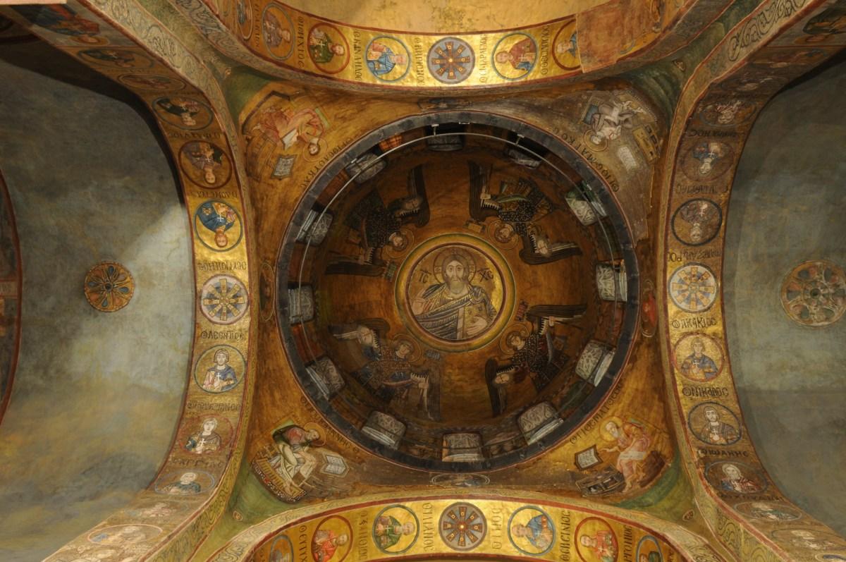 Фрески центрального куполу Софії Київської, м.Київ
