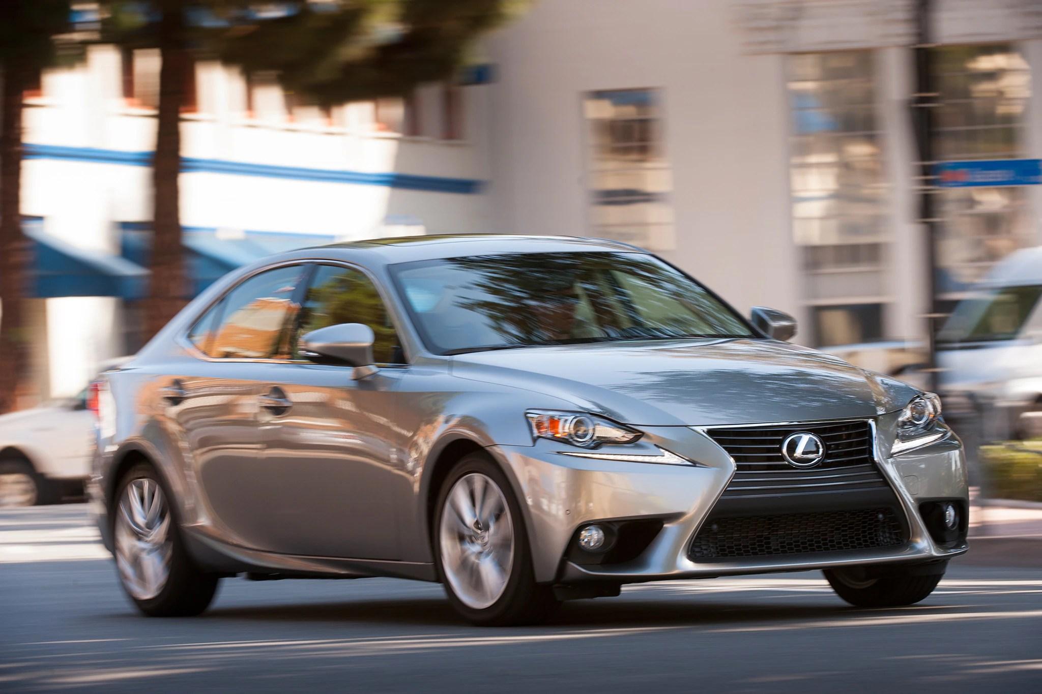 Detroit 2014 Lexus IS Thinks It s Toyota s Next Top Model