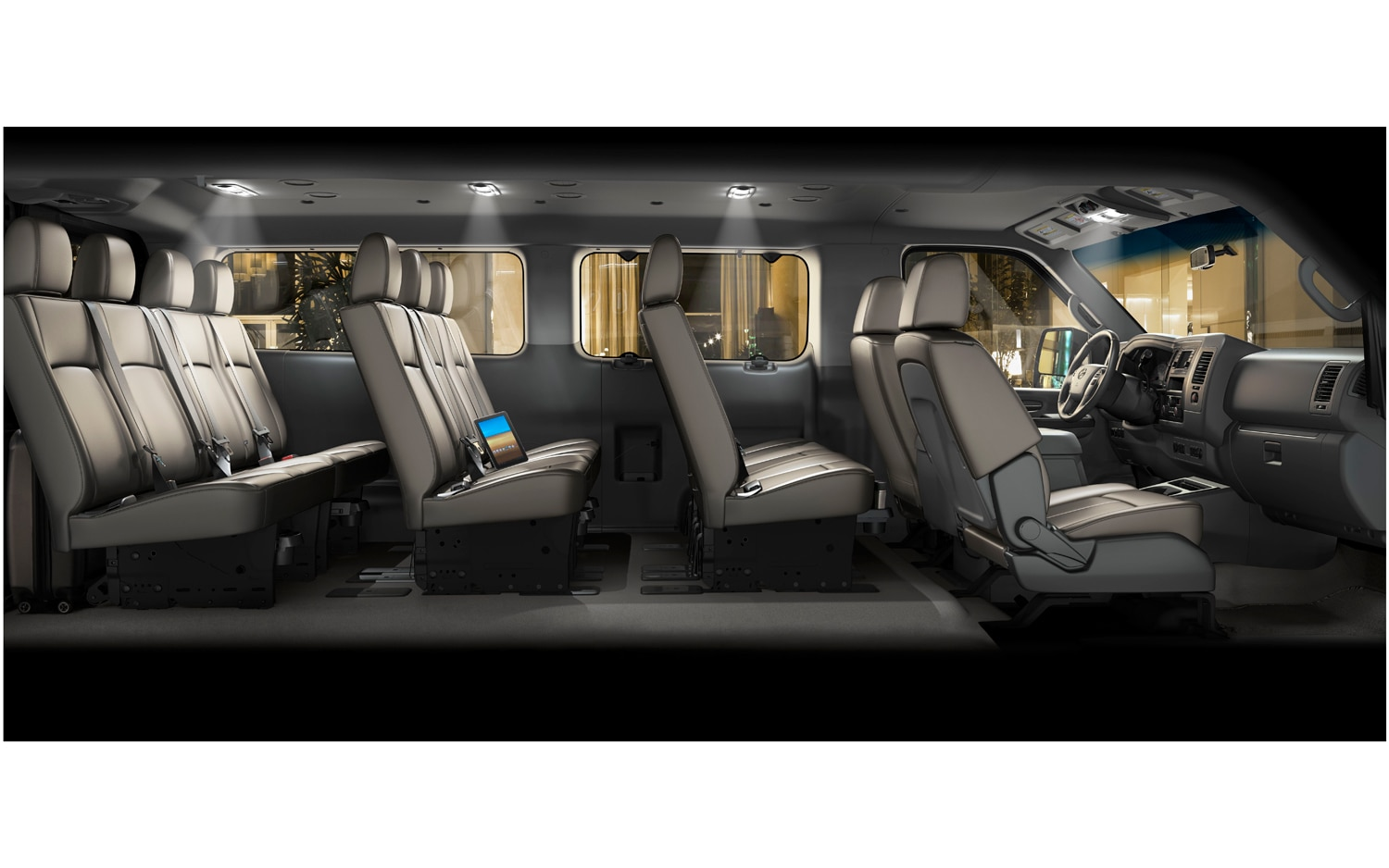 Bring The Whole Family: Nissan Launches 12-Seat NV3500 HD