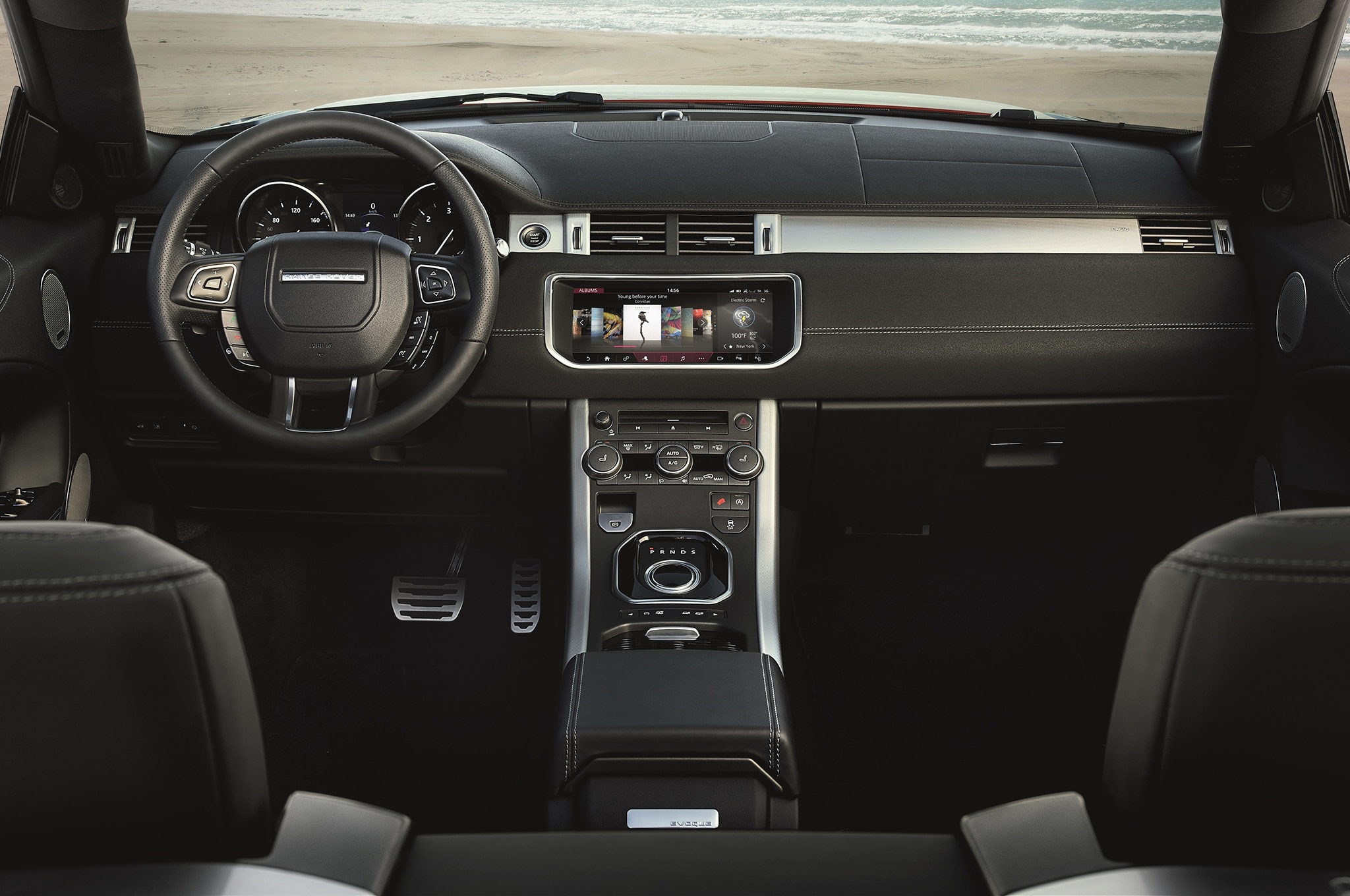Land Rover Inside