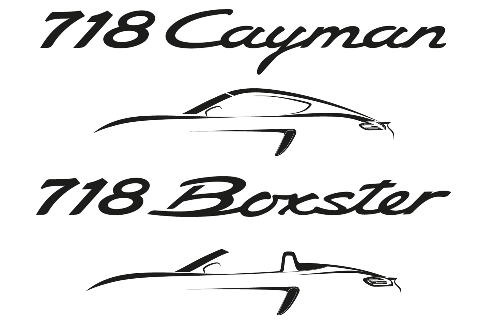 Porsche Boxster Cayman To Be Renamed 718 Go Four