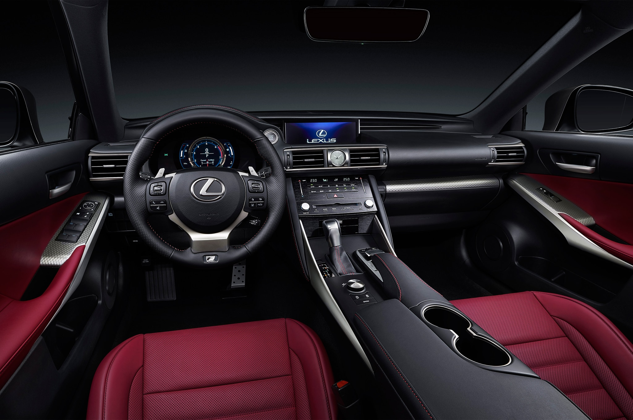 2017 Lexus IS Revealed in China with Sharpened Styling