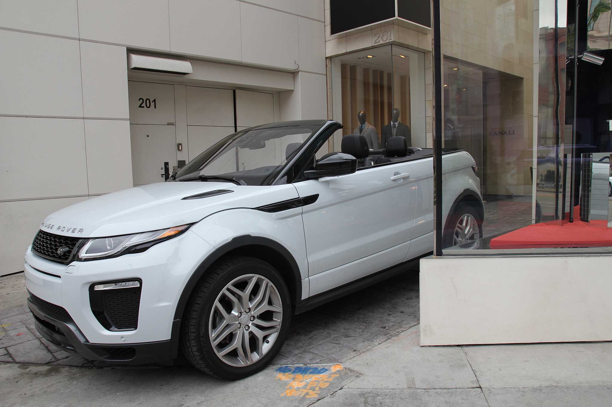 Quick Take 2016 Range Rover Evoque Convertible HSE Dynamic