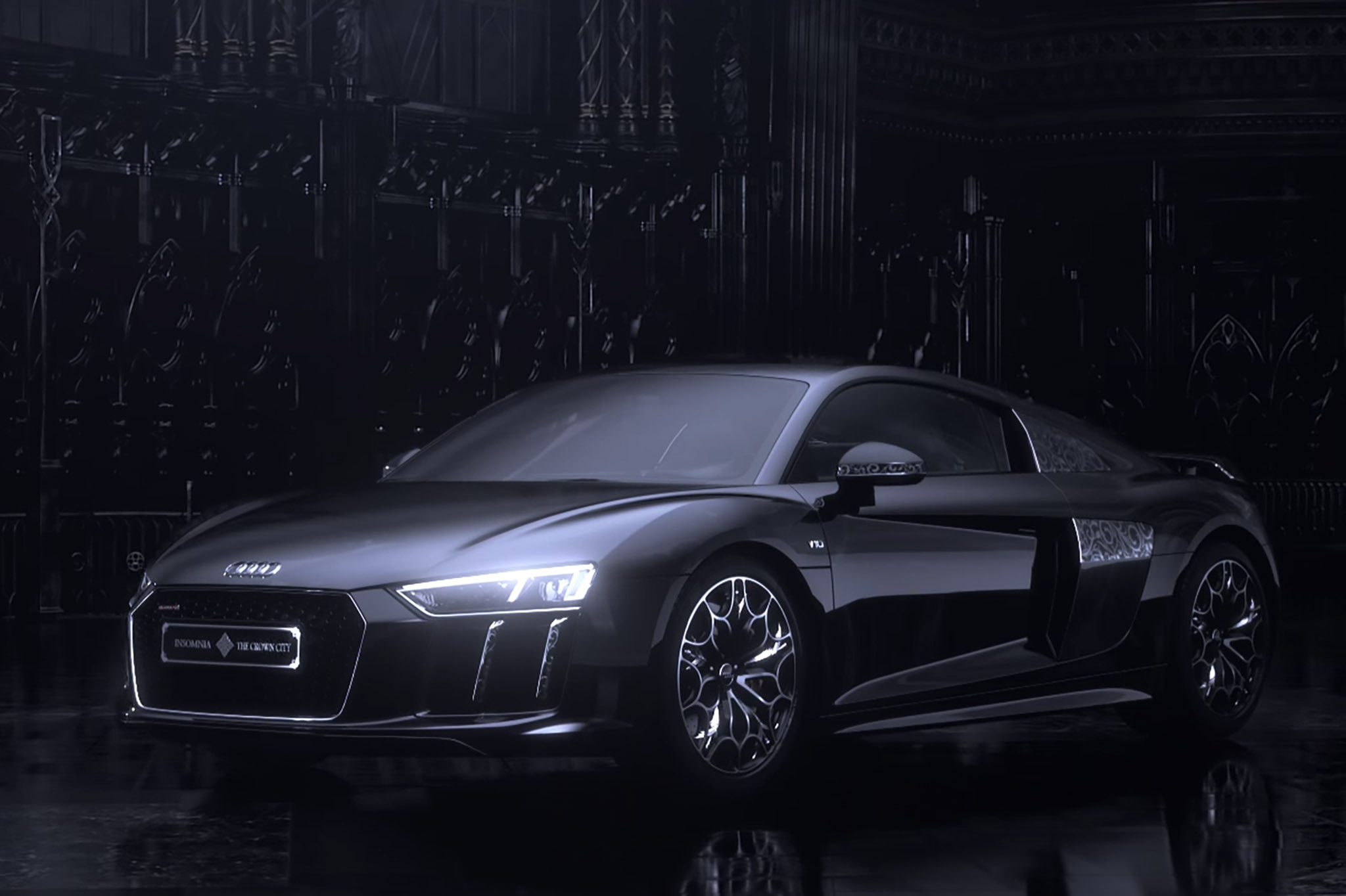 Audi Debuts Limited Edition Star Of Lucis R8 For Japan