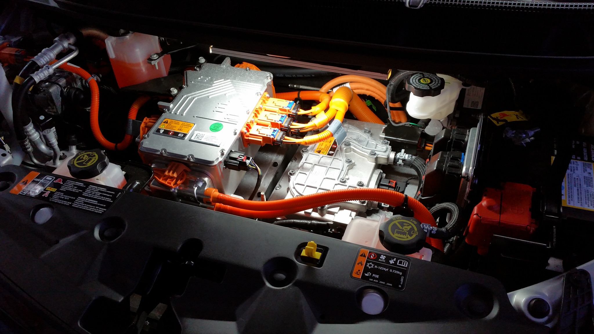 Chevy Bolt Under Hood