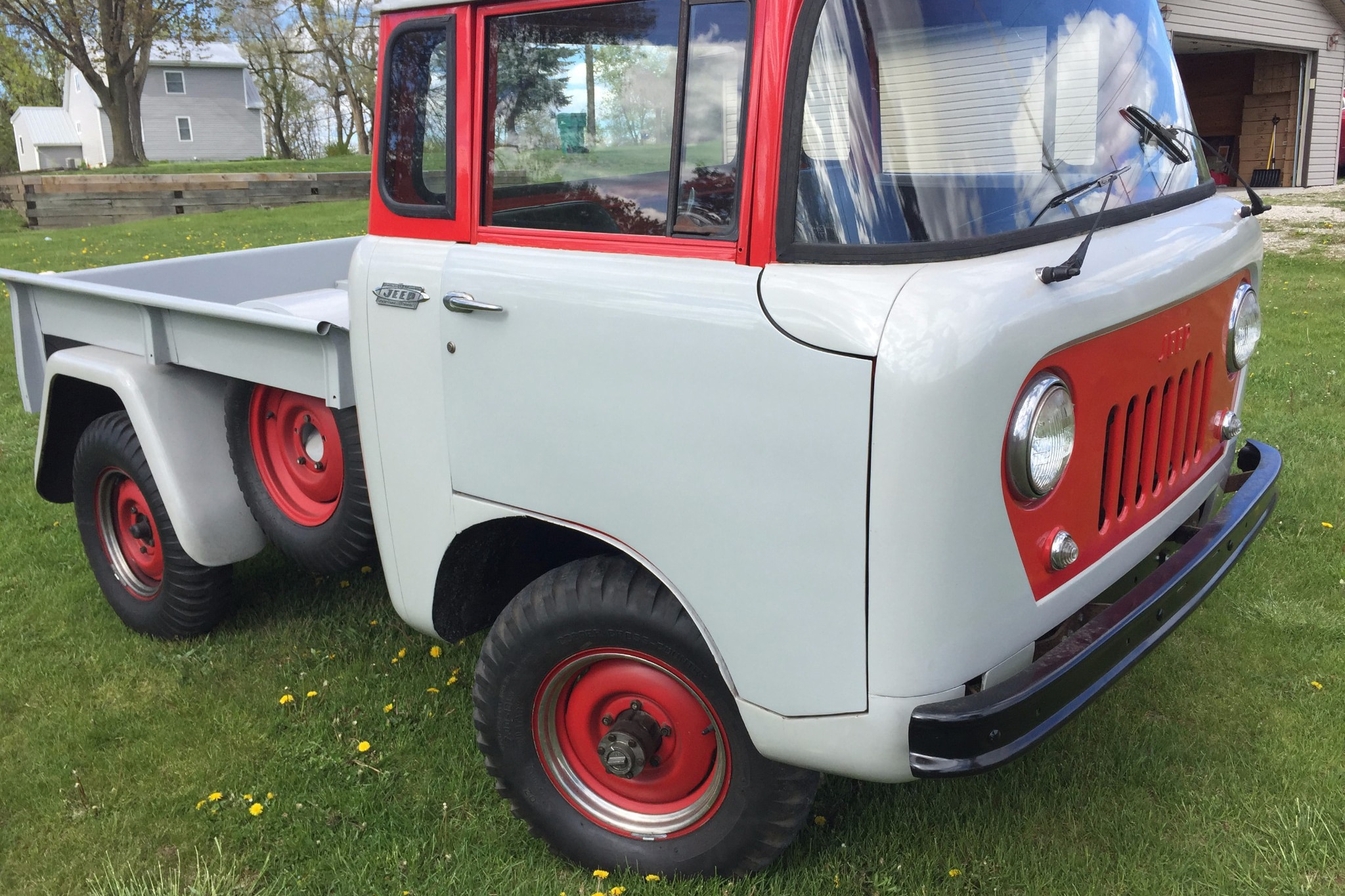 Just Listed 1962 Jeep FC 150