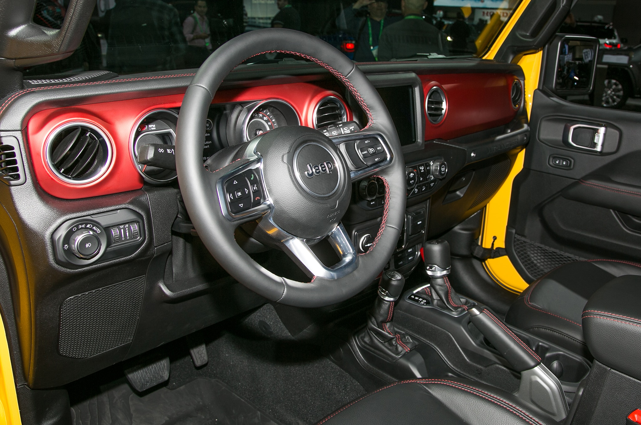 Jeep Wrangler Interior Trim Codes