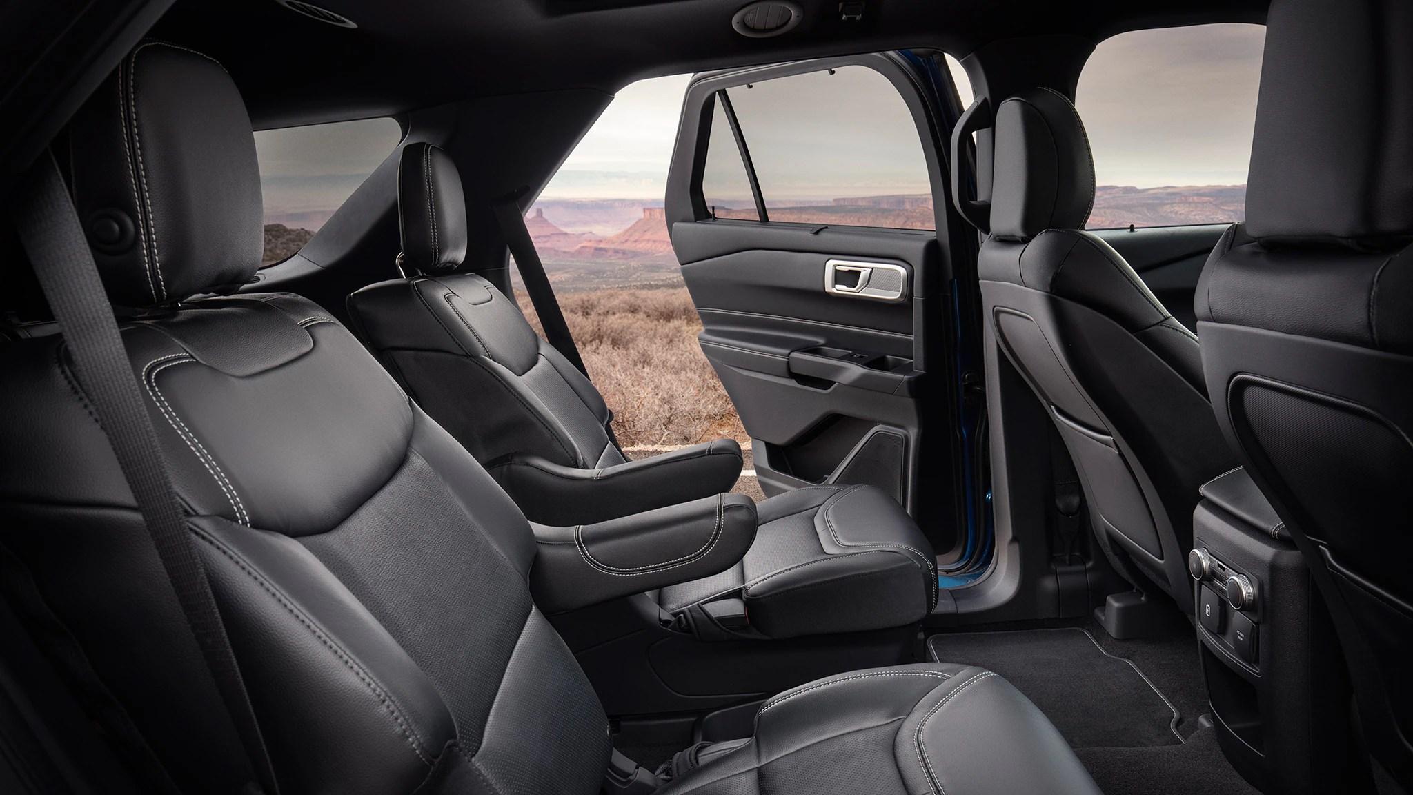 View Front Car Open Door