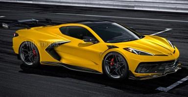 2022 Chevrolet Corvette C8 Z06: Renderings + Rumors