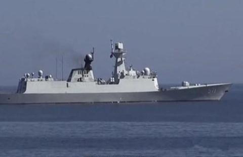 Tàu chiến Trung Quốc tham gia xâm lược vùng đặc quyền kinh tế, thềm lục địa của Việt Nam.