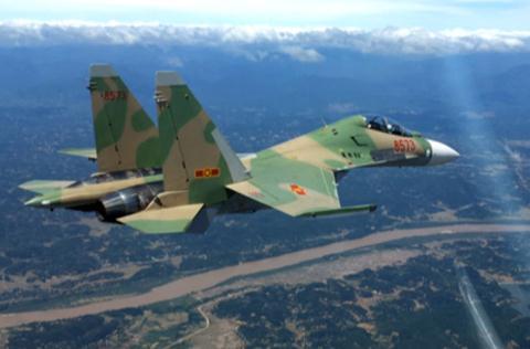 Máy bay Su-30MK2 của không quân Việt Nam được mua từ Nga