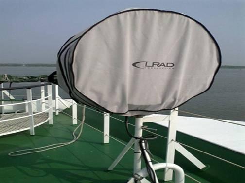 Vũ khí âm thanh LRAD 1000 Xi của tàu CSB Việt Nam 8001