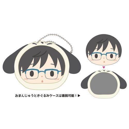Yuri on Ice x Sanrio Characters Omanju Niginigi Mascot (Sanrio Characters Ver. ) (1) Yuri Katsuki & Pochacco /