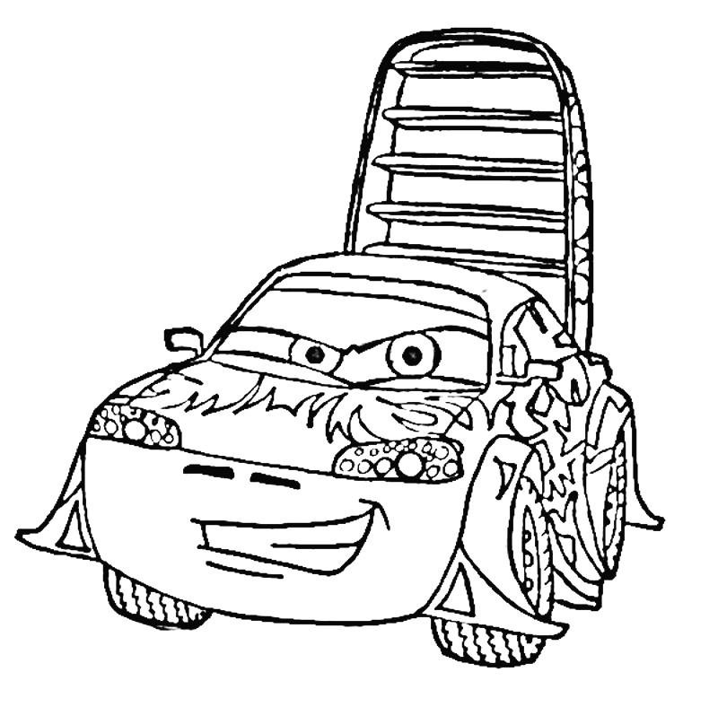 wingo cars 2 colouring pages
