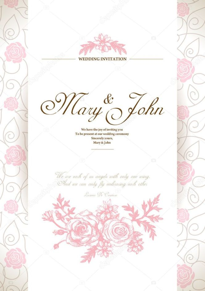 Awesome Rustic Wedding Invitations Card Stock White Edge Line