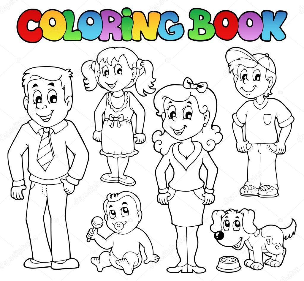 Para Colorir A Colecao Da Familia Livro 1