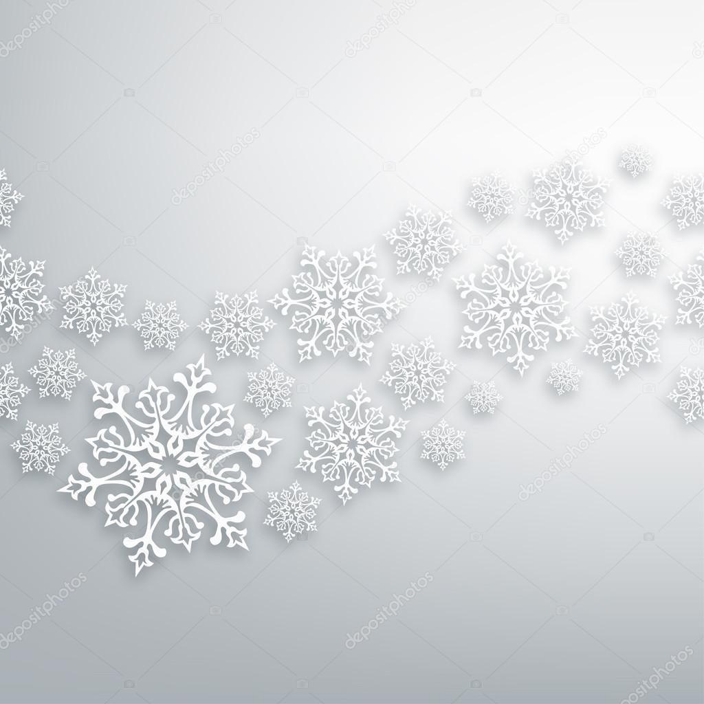 white christmas snowflakes pattern stock vector cienpies