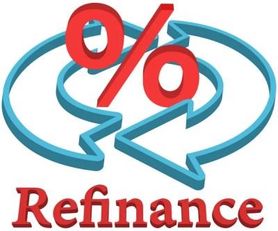 Refinance home mortgage loan — Stock Vector © michaeldb ...