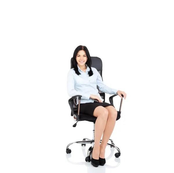 椅子に座る写真素材、ロイヤリティフリー椅子に座る画像|Depositphotos®