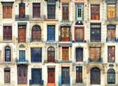 Sammlung von alten Türen — Stockfoto #21461101