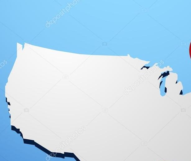 HD Decor Images » Maryland on USA map     Stock Vector      Hydognik  46977311 Maryland on USA map     Stock Vector