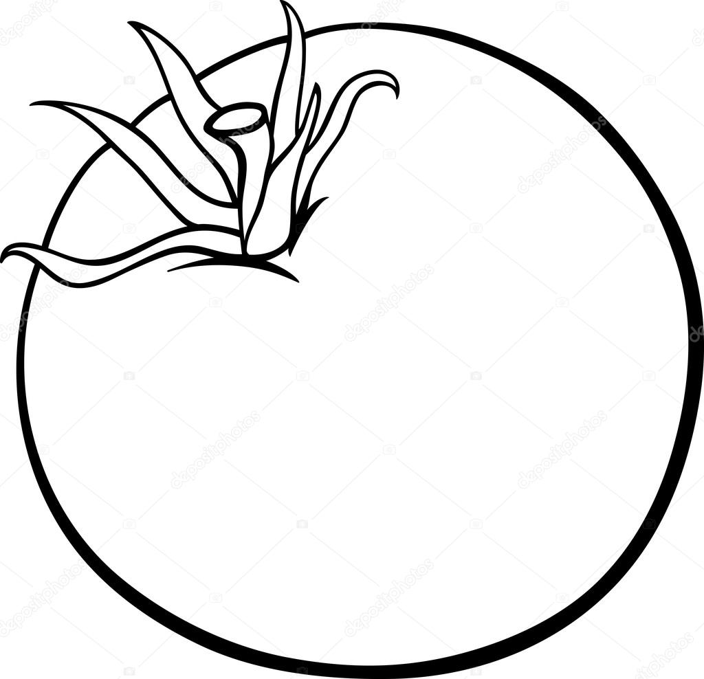 Tomato Coloring Coloring Pages