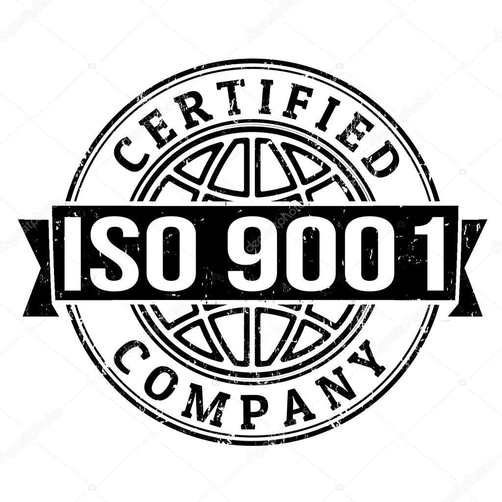 Selo De Certificado Iso