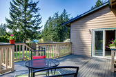 Backyard deck — Stockfoto #46903257