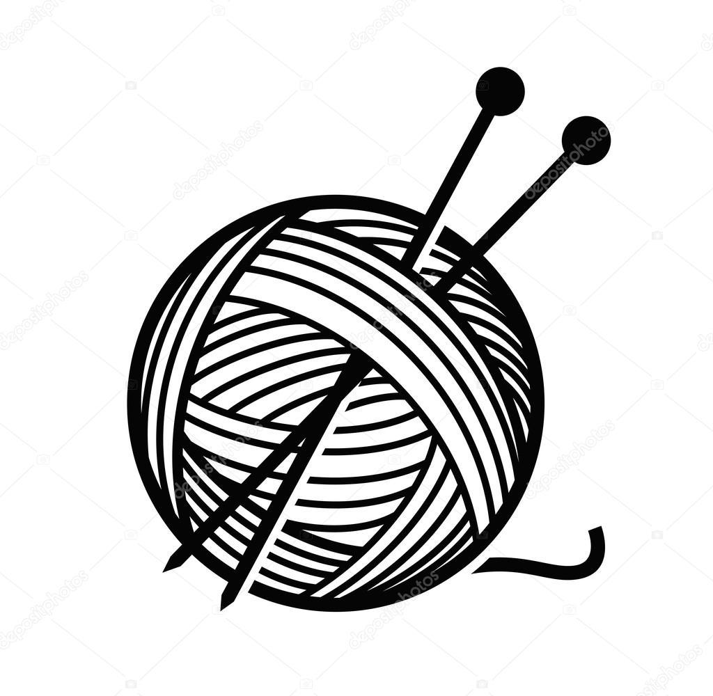 Knitting Needles And Yarn Clip Art