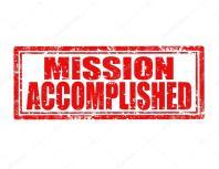 ผลการค้นหารูปภาพสำหรับ mission accomplished