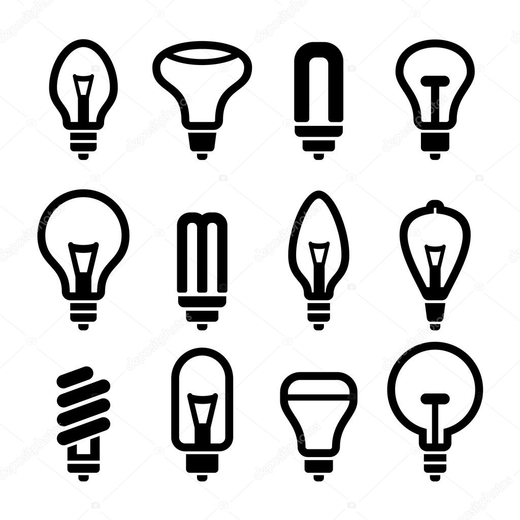 Illas De Luz Iconoilla 2 Set Vector