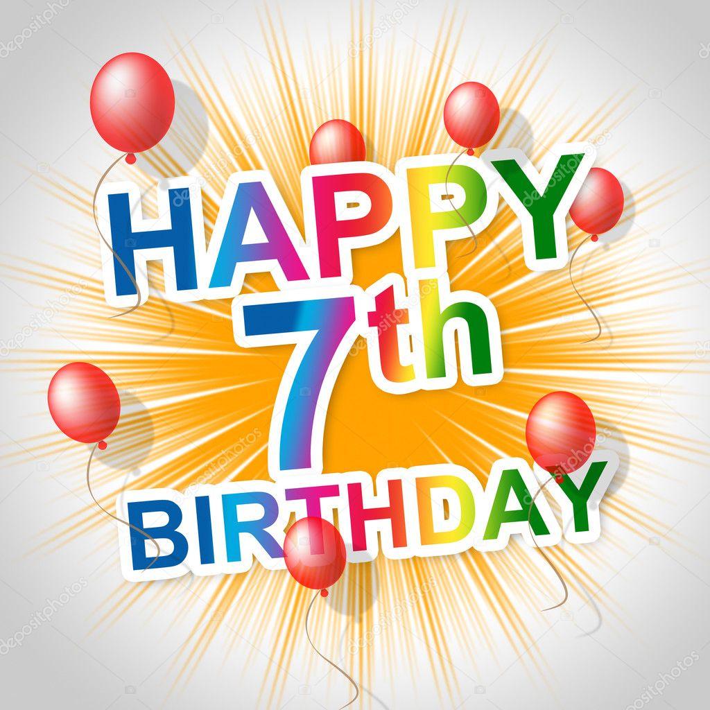 630 7th Birthday Stock Photos Free Royalty Free 7th Birthday Images Depositphotos