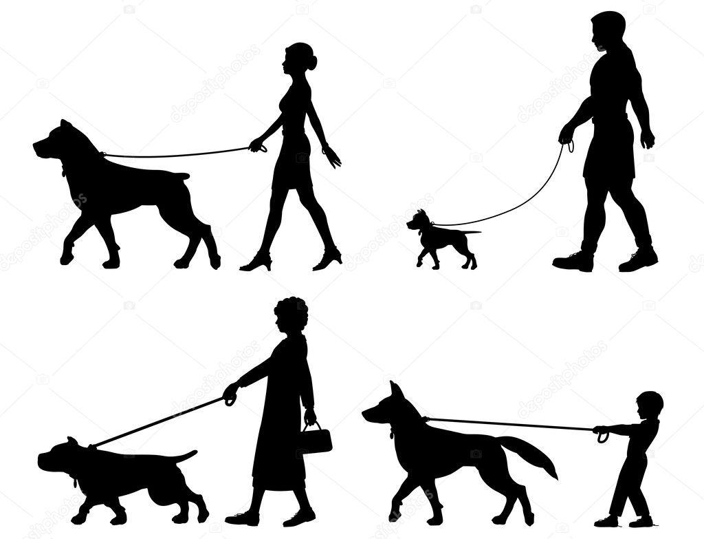 Hund Besitzer Vielfalt