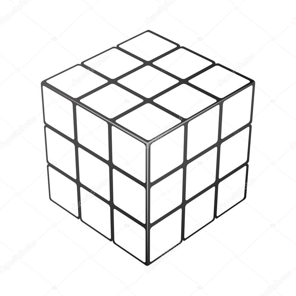 Abstrato Do Vetor Cubo Jogo Do Divertimento