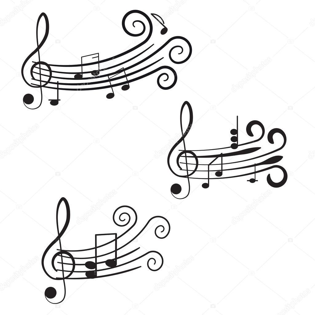 Musica Chiave Di Violino E Note