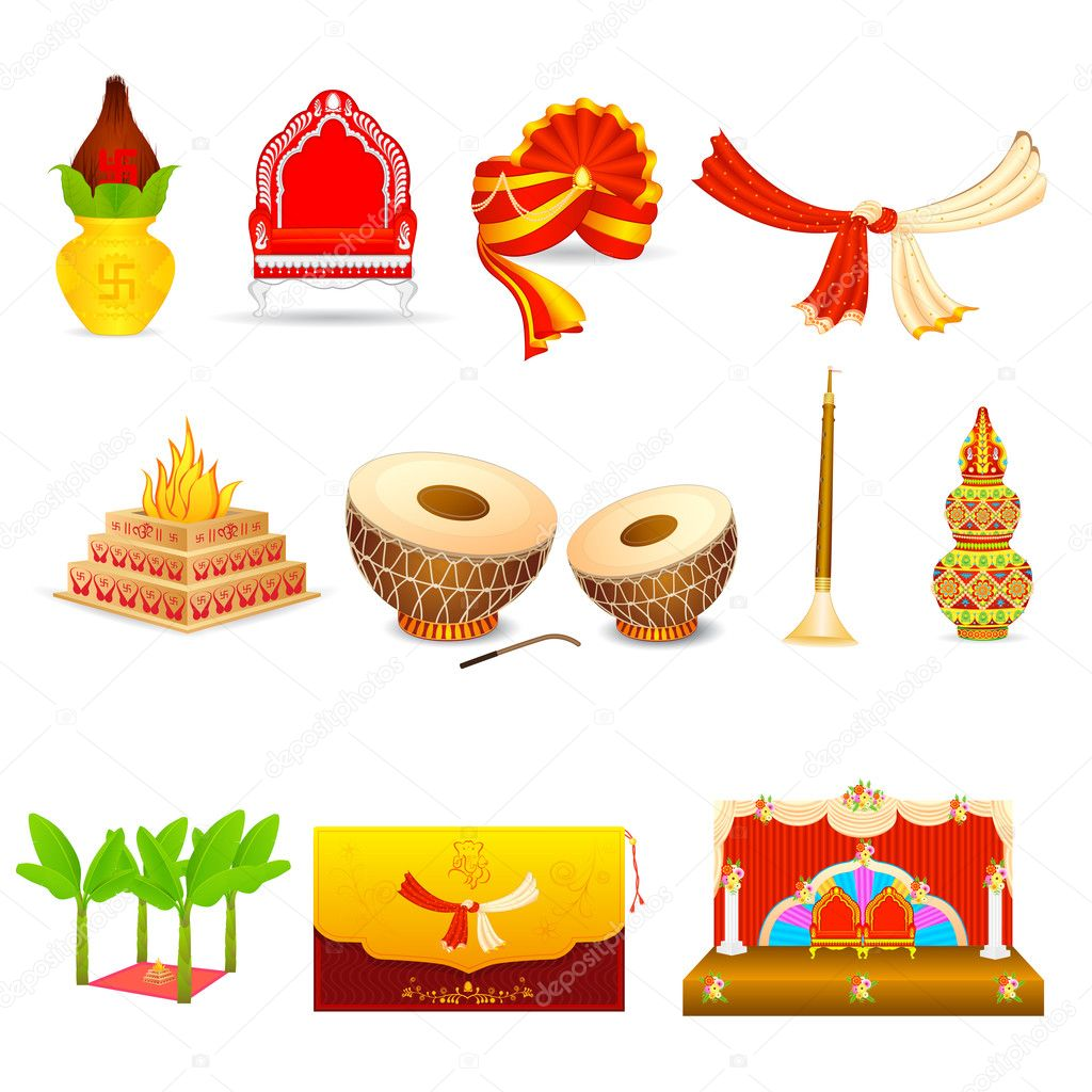 3 852 hindu wedding vector images royalty free hindu wedding vectors depositphotos