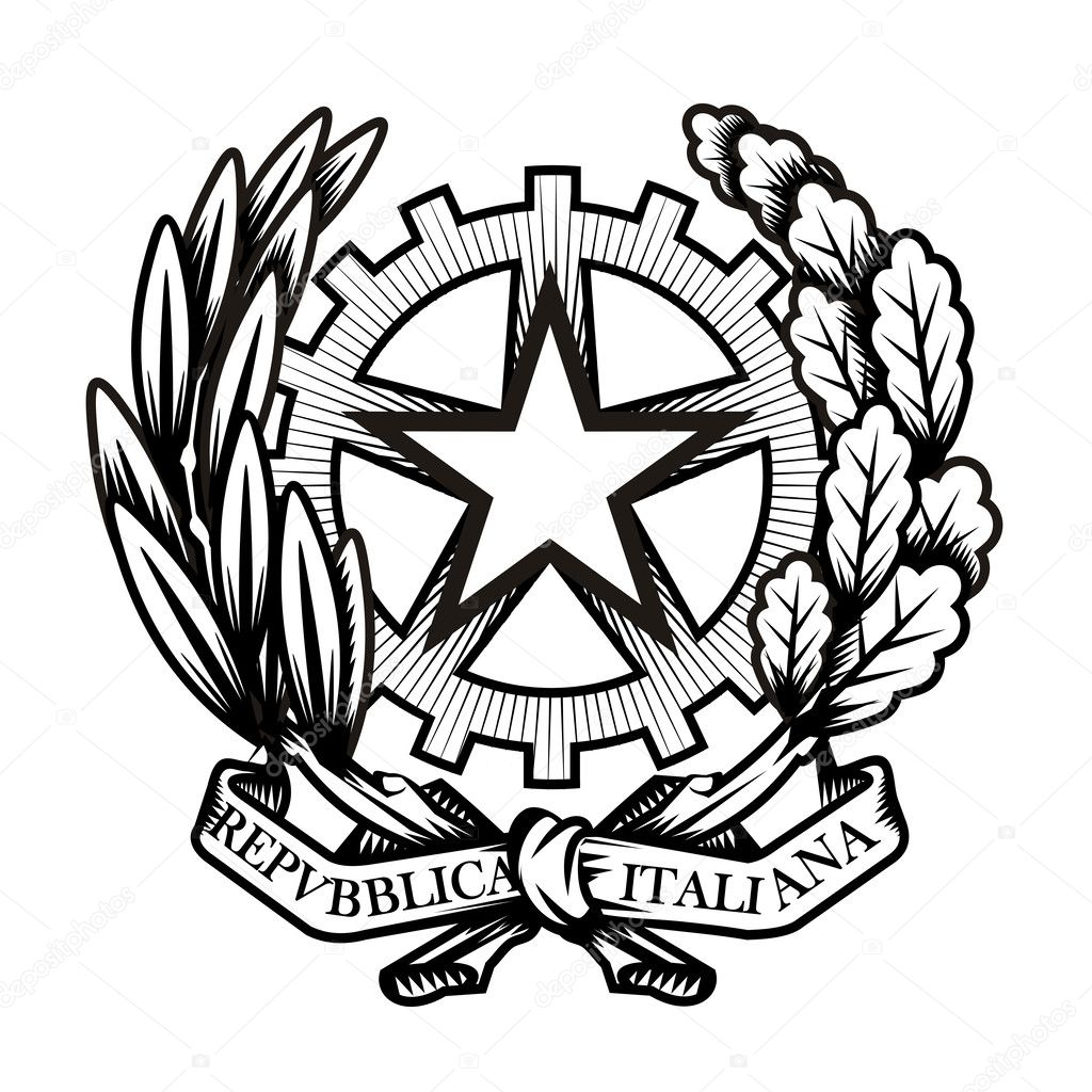 Italy Coat Of Arms Vector Format