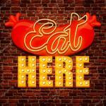 Vector Vintage Cafe Sign Stock Vector C Best Works 39775055