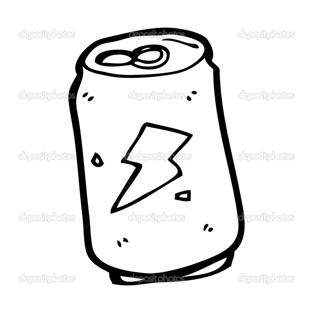 Soda Can Cartoon