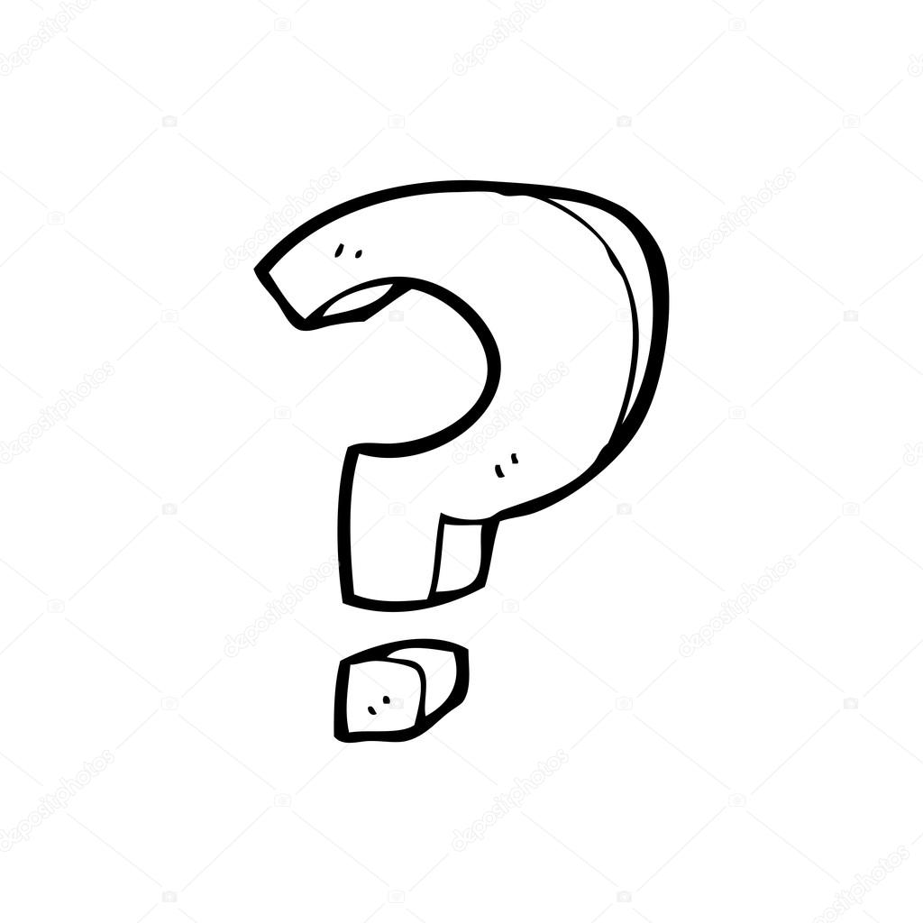 Cartoon Question Mark